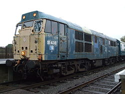 Loco 31438 at North Weald 2012.JPG