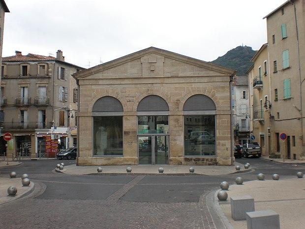 Monument historique à Lodève