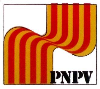 Nationalist Party of the Valencian Country - Image: Logo PNPV 2