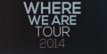 Logo de Where We Are Tour.png