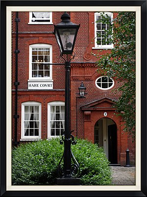 2 Hare Court - 2 Hare Court building, located in the Inner Temple.