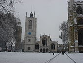 London in snow 2 February 2009 411