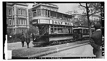 London Tram автомобилей