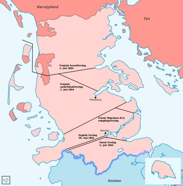 grænsen til sverige i 1864