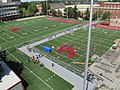 Looking down on practice field from observation platform by stadium (11200677776).jpg