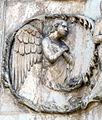 Lorenzo maitani e aiuti, scene bibliche 3 (1320-30) 08 angelo.jpg