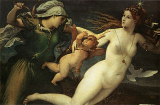 c. 1530 painting by Lorenzo Lotto