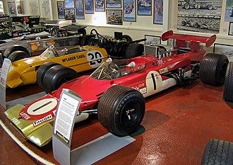 Lotus 63 - Image: Lotus 63 Donington