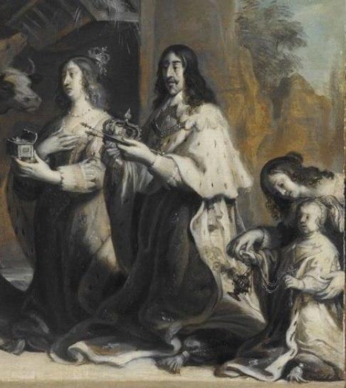 Louis XIII et famille royale
