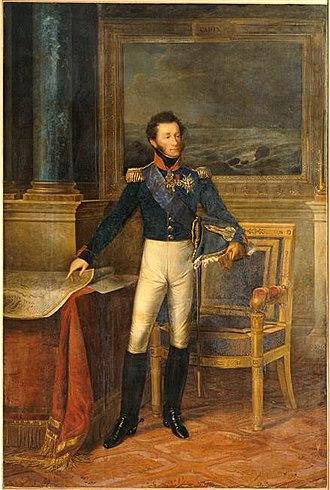 Louis Antoine, Duke of Angoulême - Portrait by François Kinson, 1825