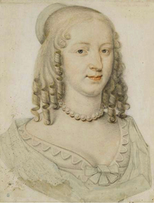 Louise de Bourbon, Mademoiselle de Soissons as Duchess of Longueville by Dumonstier.png