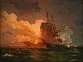 Loutherbourg-Un navire maltais attaqué par des pirates algériens.jpg
