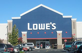 Lowe's - A typical Lowe's storefront in Santa Clara, California.