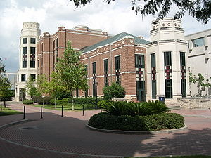 Loyola University New Orleans - The south-west side of J. Edgar and Louise S. Monroe Library