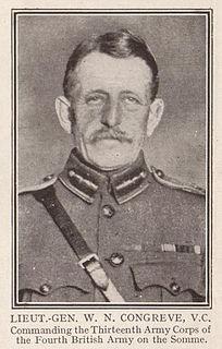 Walter Norris Congreve Recipient of the Victoria Cross
