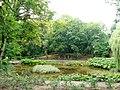 Lubostroń, park, ok. 1800 - staw.JPG