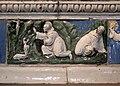 Luca della robbia il giovane, deposizione dalla croce e compianto, 1515 ca. 05 stimmate di san francesco.jpg