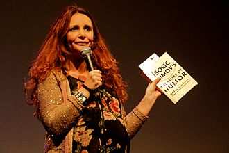 Lucy Porter - Porter talking at Bright Club London in November 2011