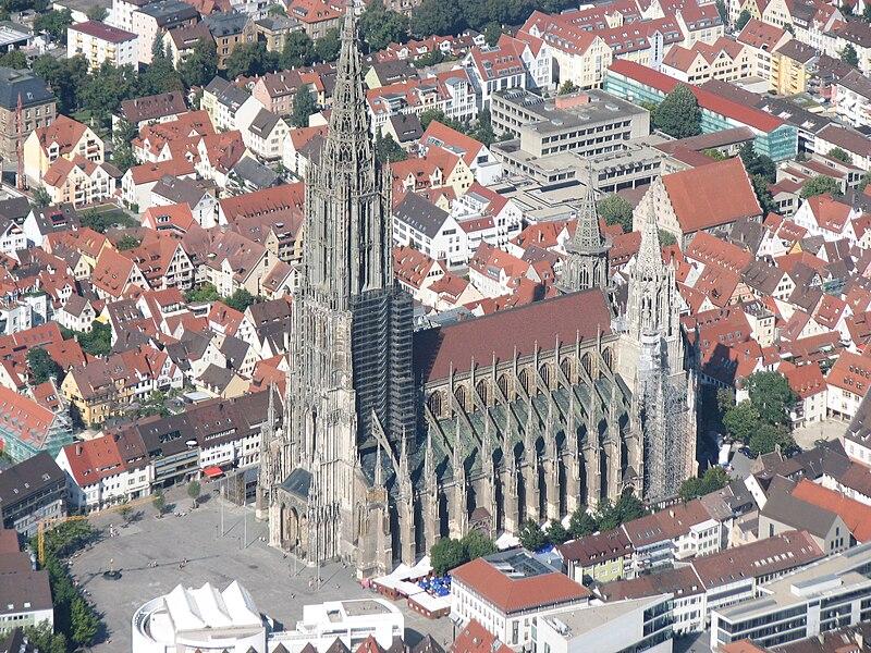 Ulmer Münster (Bildquelle: Wikipedia.org)