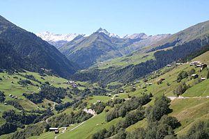 Vrin - Lugnez valley near Vrin
