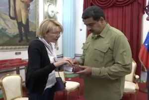 2017 Venezuelan constitutional crisis - Attorney General Luisa Ortega Díaz meeting with President Maduro on 1 April 2017