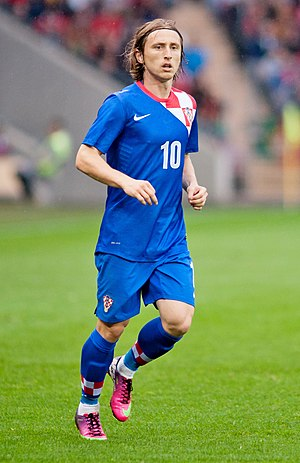 Luka Modric - Croatia vs. Portugal, 10th June 2013.jpg