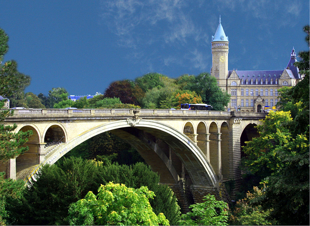 Adolphe Bridge, Luxembourg