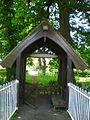Lych gate Kingston Seymour parish church - geograph.org.uk - 1307398.jpg
