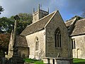 Lydiard Millicent, All Saints Church - geograph.org.uk - 268632.jpg