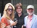 Lynne St. David-Jewison, Helga Stephenson and Norman Jewison at the 2011 CFC BBQ. (48198978602).jpg