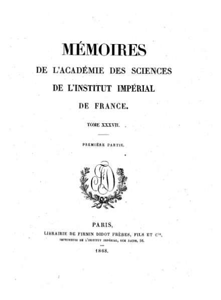 File:Mémoires de l'Académie des sciences, Tome 37.djvu