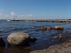 Prangli - Image: Mölgi sadam at Prangli