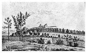 Cotroceni - Image: Mănăstirea Cotroceni, 1860