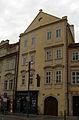 Měšťanský dům U bílého orla (Malá Strana), Praha 1, Malostranské nám. 27, Malá Strana.JPG
