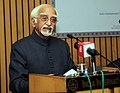 M. Hamid Ansari delivering the inaugural address at the seminar on 'The cultural similarities between Iran and the Indian sub-continent Indigenous Cultural Fragmentation in the Era of Globalization', in New Delhi (1).jpg