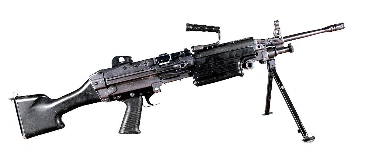 M249 light machine gun - Wikipedia