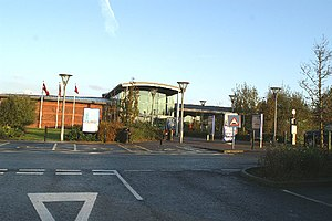 Stafford services - Stafford South building.