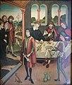 Maître de la légende de saint Jacques - Trois pèlerins en route vers Saint-Jacques-de-Compostelle.JPG