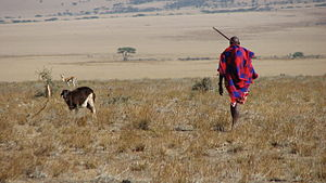 Maasai people - Maasai man