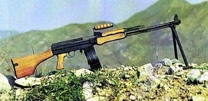 Type 81 assault rifle - Type 81 light machine gun