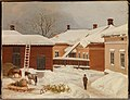 Magnus von Wright - The Liljenstrand House in Winter - A IV 3488 - Finnish National Gallery.jpg