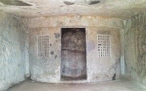 Mahakali Caves - Image: Mahakali caves buddha stupa
