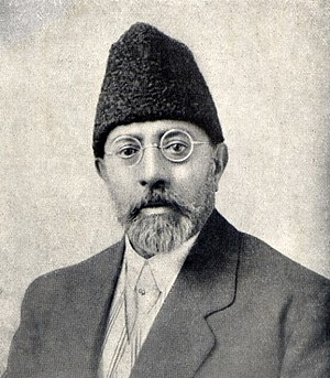Mahmud Tarzi - Mahmud Tarzi in 1919