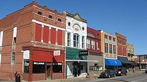 Morganfield, Kentucky - Main Street downtown