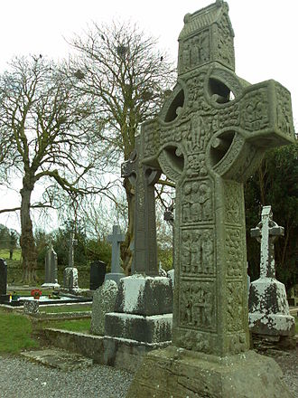 Muiredach's High Cross - West-face of Muiredach's High Cross.