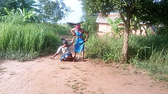 Intimate partner violence - Physical violence against a woman in Benin.
