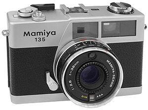 Mamiya - Image: Mamiya 135 EE