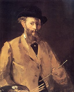 Manet Self-Portrait with Palette v3