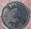 Manhole cap in Torremolinos, Andalusia, Spain.jpg
