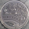 Manhole cover of Kinosaki, Toyooka.jpg